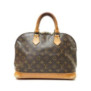 Auth Louis Vuitton Alma Hand Bag #7621L16